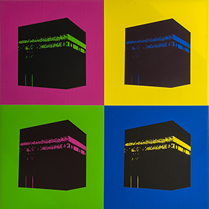 Ka'ba in pop art stijl, 2000-2015, Saoedi-Arabië