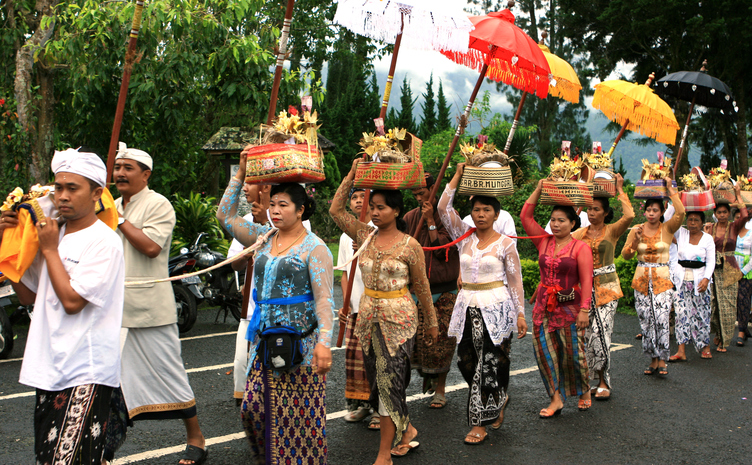 Offer processies Bali