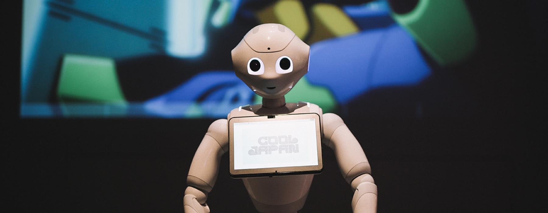 Pepper, robot, cool japan, tropenmuseum
