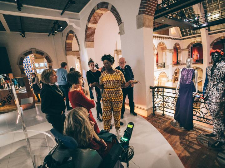 Guided tour, Fashion Cities Africa